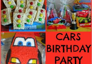 Cars Decorations for Birthday Disney Cars themed Birthday Party Ideas Making Time for
