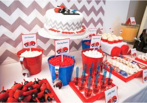 Cars Decorations for Birthday Kara 39 S Party Ideas Car themed Boy 2nd Birthday Party