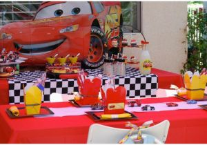 Cars Decorations for Birthday Real Party Disney 39 S Cars 2 Movie Screening Pizzazzerie