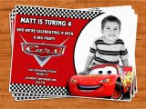Cars First Birthday Invitations Cars Birthday Invitation U Print by Ptycards On Etsy