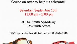 Cars themed Birthday Invitations 17 Best Ideas About Cars Birthday Invitations On