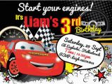 Cars themed Birthday Invitations 26 Best Images About 2nd Brithday Disney Cars Backdrops On