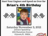 Cars themed Birthday Invitations Cars Birthday Ideas Pinterest Roundup