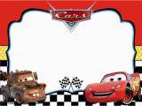 Cars themed Birthday Invitations Cars Invitation Templates Free and Printable