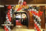 Casino Birthday Decorations Cheapest Balloon Decorations for Birthday Party Party