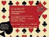 Casino themed Birthday Invitations Casino Poker themed Birthday Invitation