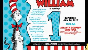 Cat and the Hat Birthday Invitations Cat In the Hat Birthday Quotes Quotesgram