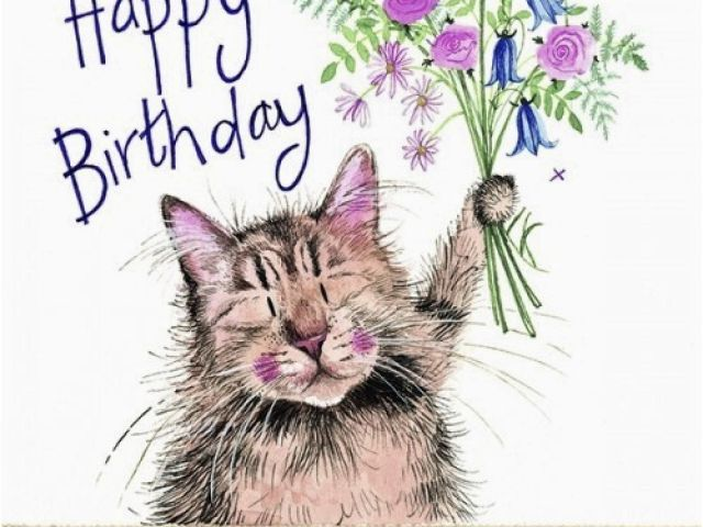 Download By SizeHandphone Tablet Desktop Original Size Back To Cat Birthday E Card