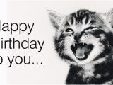 Cat Birthday E Card Free Singing Cat Ecard Email Free Personalized Birthday