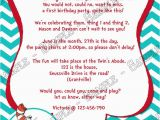 Cat In the Hat 1st Birthday Invitations Novel Concept Designs Cat In the Hat Thing 1 and Thing