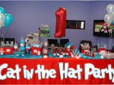 Cat In the Hat Birthday Decorations Cat In the Hat Birthday Party Ideas Dre 39 Lon 39 S 1st