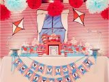 Cat In the Hat Birthday Party Decorations Kara 39 S Party Ideas Cat In the Hat Party Planning Ideas