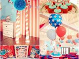Cat In the Hat Birthday Party Decorations Kara 39 S Party Ideas Cat In the Hat Party with so Many Ideas
