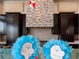 Cat In the Hat Birthday Party Decorations Kara 39 S Party Ideas Cat In the Hat themed Birthday Party