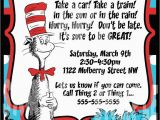 Cat In the Hat Birthday Party Invitations Cat In the Hat Birthday Invitations Cat In the Hat