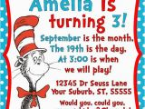Cat In the Hat Birthday Party Invitations Dr Seuss Cat In the Hat Invitation Printable 5×7