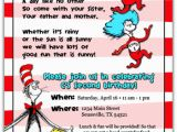 Cat In the Hat Birthday Party Invitations Menu Plan Monday April 18 23 Frugal Novice