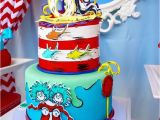 Cat In the Hat Decorations for Birthday Kara 39 S Party Ideas Dr Seuss Birthday Party Kara 39 S Party