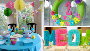 Cat themed Birthday Party Decorations Kara 39 S Party Ideas Cat Kitty themed 2nd Birthday Party