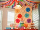 Ceiling Decorations for Birthday Party Art Party Streamers and Parties On Pinterest