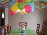 Ceiling Decorations for Birthday Party Best 25 Hanging Balloons Ideas On Pinterest Glow Stick