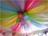 Ceiling Decorations for Birthday Party Kids Parties Easy Idea for the Ceiling Design Dazzle