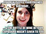 Champagne Birthday Meme Birthday Wine