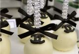 Chanel Birthday Decorations 40th Birthday Party Chanel theme Ideas