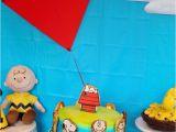 Charlie Brown Birthday Decorations Kara 39 S Party Ideas Peanuts Charlie Brown Birthday Party
