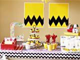 Charlie Brown Birthday Decorations Larissa Another Day A Charlie Brown Birthday Party