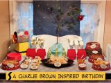 Charlie Brown Birthday Party Decorations Real Parties A Charlie Brown Inspired Birthday Piggy