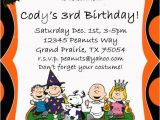Charlie Brown Birthday Party Invitations Items Similar to Peanuts Charlie Brown Halloween Party