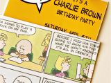 Charlie Brown Birthday Party Invitations Larissa Another Day A Pinteresting Wednesday Charlie