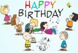 Charlie Brown Happy Birthday Quotes Charlie Brown Birthday Quotes Quotesgram