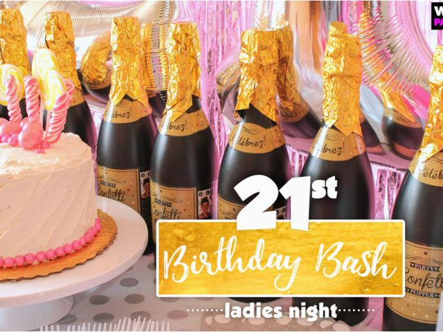 Cheap 21st Birthday Decorations Bash Party Ideas