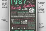 Cheap 30th Birthday Invitations 30th Birthday for Her 30th Birthday Decoration Poster 30th