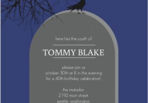 Cheap 40th Birthday Invitations Invitation Halloween Orderecigsjuice Info