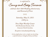 Cheap 50th Birthday Invitations 50th Wedding Anniversary Invitation