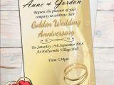Cheap 50th Birthday Invitations Templates Photo Invitations for Th Wedding Anniversary Als
