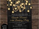 Cheap 50th Birthday Party Invitations Gold 50th Birthday Invitations 50th by Diypartyinvitation