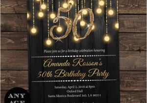 Cheap 50th Birthday Party Invitations 25 Best Ideas About 50th
