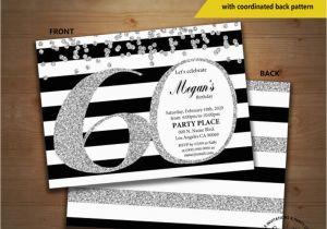 Cheap 60th Birthday Invitations 20 Ideas Party Card Templates