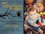 Cheap First Birthday Invitations Halloween themed First Birthday Party