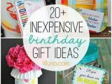 Cheap Gifts for Mom On Her Birthday 1000 Ideas About Inexpensive Birthday Gifts On Pinterest