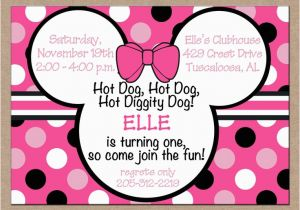 Cheap Minnie Mouse Birthday Invitations 17 Best Ideas About On