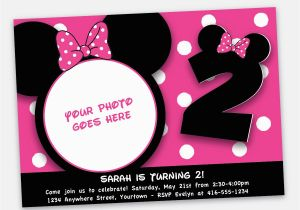 Cheap Minnie Mouse Birthday Invitations Invites Cartoons Party