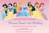 Cheap Princess Birthday Invitations Birthday Invitation Disney Princesses Birthday