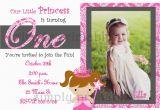 Cheap Princess Birthday Invitations Cheap First Birthday Invitation Template Bagvania Free