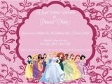 Cheap Princess Birthday Invitations Disney Princess Party Invitation Laura 39 S Crafty Life
