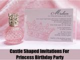 Cheap Princess Birthday Invitations Ideas for Homemade Princess Birthday Party Invitations